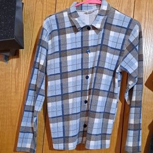 ⭐Vintage Flannel knit top